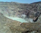 九州の旅 火山口