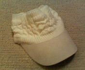 帽子買いました