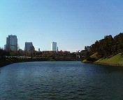 桜田門からの景色 皇居ラン
