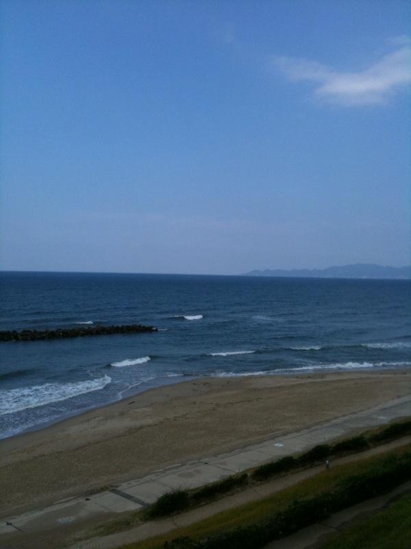 日本海 山陰にて
